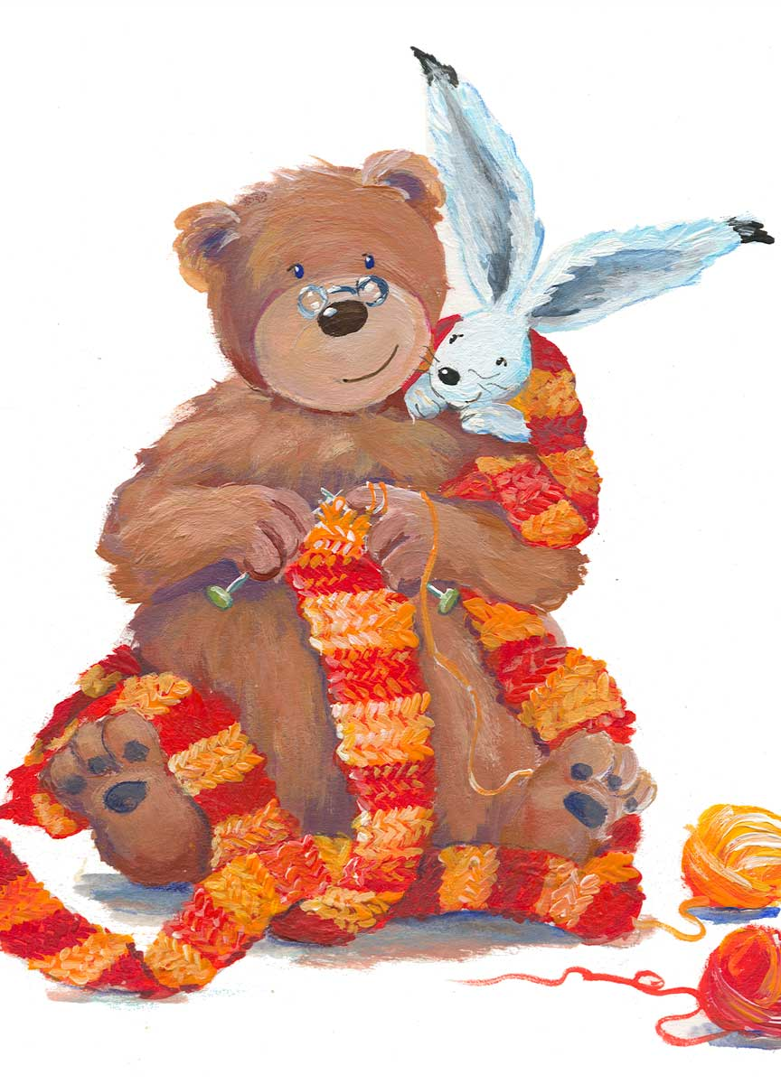 Hase und Bär